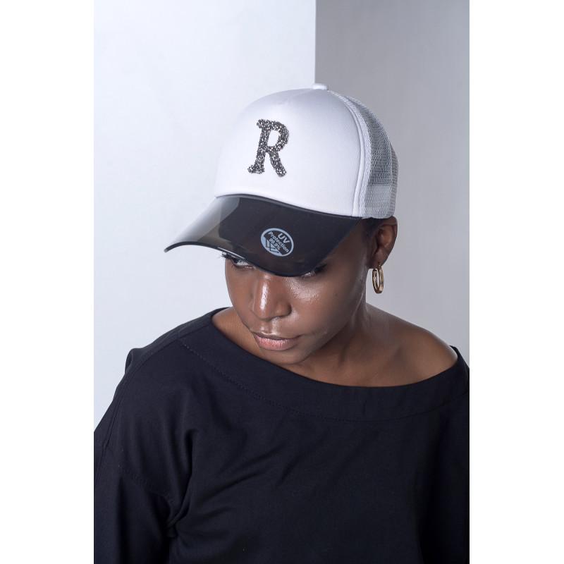 Біла жіноча бейсболка R55