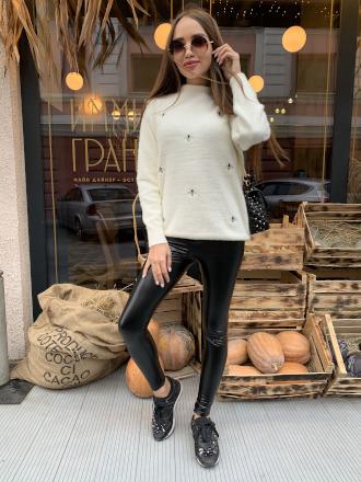 Купить модный пуловер женский